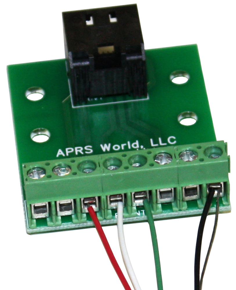 APRS6577: Temperature and Relative Humidity Sensor, Connected to RJ-45