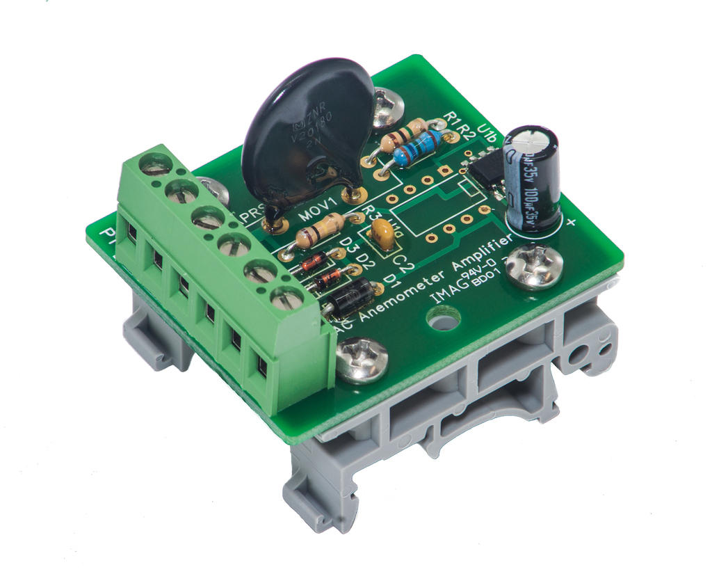 APRS6511: AC Anemometer Amplifier Board