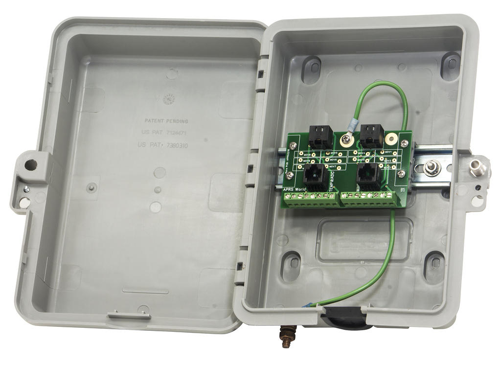 APRS6721: Lightning Arrestor, Mounted in Enclosure