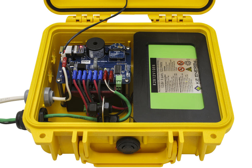 APRS7530: Cabu Communications and In-cab Display Package for Crane Logger