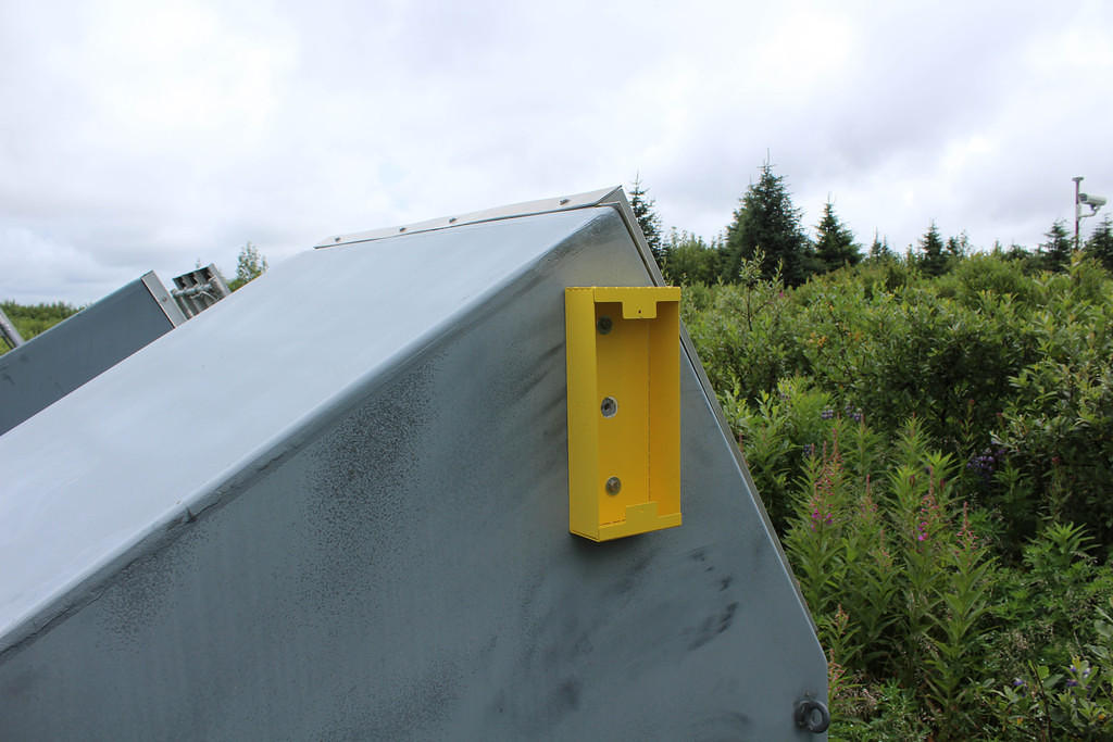 APRS8425: Single Wall Mount for 600 Watt Dump Load at Bering Glacier Camp, 100 Miles East of Cordova, AK, USA