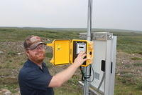 Toolik Field Station Wind Monitoring, Alaska, USA