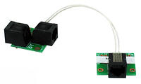 APRS6570: Rain Gauge, Tipping Bucket Wiring Adapter For Connecting Rain Collector to Wind Data Logger