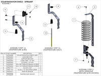 APRS6547: Solar Radiation Shield Assembly Instructions