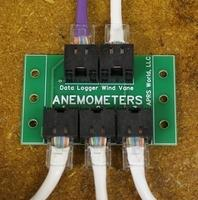 APRS6510: Anemometer and Wind Vane Splitter Board Example 2