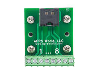 APRS6850: RJ-45 Breakout Board to Screw Terminals, Pack of 10