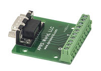 APRS6851: DB9 Male Breakout Board to Screw Terminals, Pack of 10