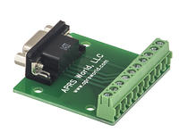 APRS6852: DB9 Female Breakout Board to Screw Terminals, Pack of 10