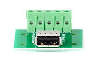 APRS6866 USB A Jack Breakout Board to Screw Terminals