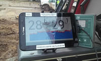 Touch screen tablet, for in-cab display and cellular communications