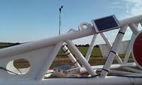 Pivoting wind vane and Data Logger