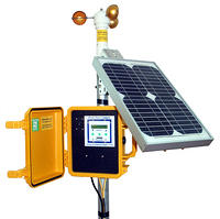 APRS6060: Wind Data Logger Package, Solar Powered, Outdoor