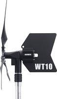 WT10 With Mast Quick Connect, Side View