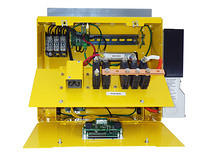 WTAPRS Turbine Control Panel with power and instrumentation compartments open.
